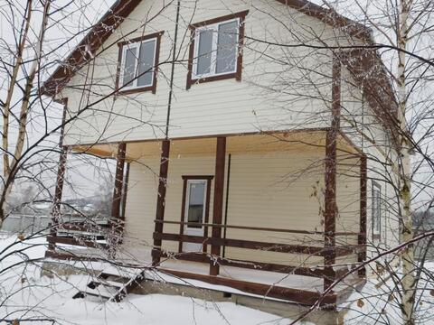 Дом эконом-класса в деревне Верховье, ПМЖ, хорошая инфраструктура, удо