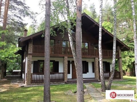 Дом-шале 637,1 кв.м. на лесном участке, Новодарьино