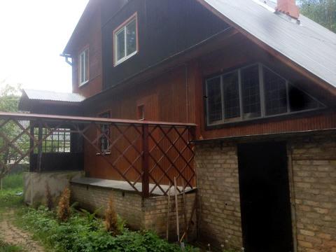 Дом 170 м2 на участке 10 соток. 15 км от МКАД, д. Полушкино.
