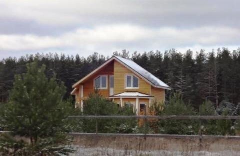 Дом 117м2 на 19 сот рядом с сосновым бором