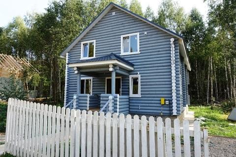 Новый Дом 190 кв.м из бревна на лесном участке в охраняемом поселке