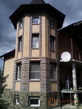 Дом кирпичный 300 кв.м. с зем. уч-ком 16 соток в д.Острога, Каширского .