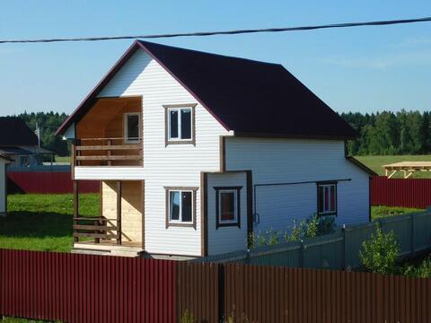 Дом в деревне по Киевскому Калужскому шоссе с магистральным газом