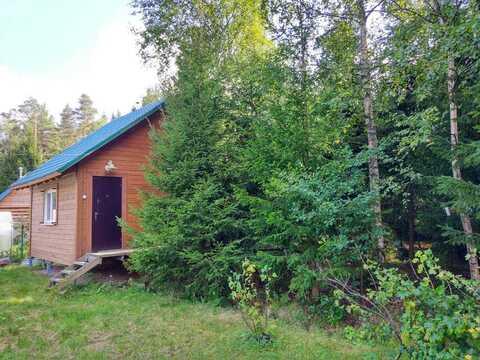 Продается участок С небольшим новым домом под выборгом, недалеко от за