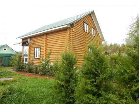 Цена снижена! Новый дом из бревна 160 кв на 9 сот.земли д.Писарево