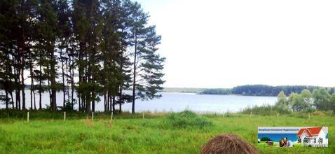 14 соток у большого водоема, д.Блазново, 105 км от МКАД.