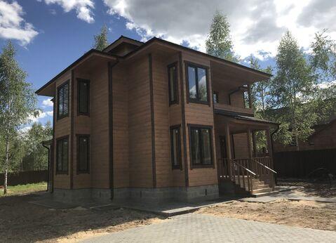 Теплый деревяный дом в 80 км от Москвы
