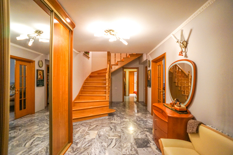 Современный жилой 3х этажный таунхаус 350 кв.м. ЖК «Родники» Одинцово
