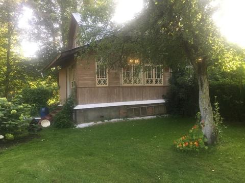 Продаётся часть жилого дома в старом дачном месте