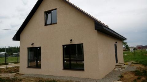 Новый дом с газом в Кабицыно, полностью выполнена чистовая отделка.
