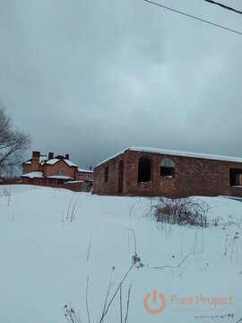 Земельный уч-к 10 соток с недостроенным домом в Кашире, М.О. (на .