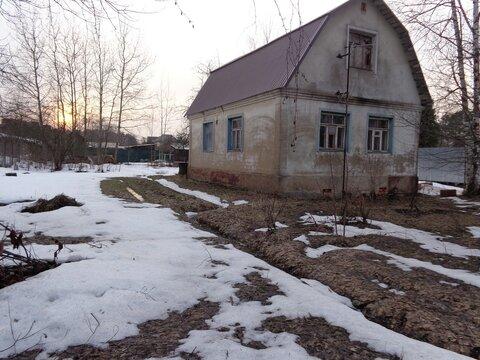 Дом на участке 12 сот. ИЖС в Голицыно.