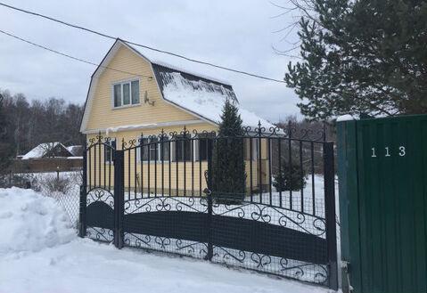 Дом 70 кв.м, на участке 8 сот. в СНТ Железнодорожник.