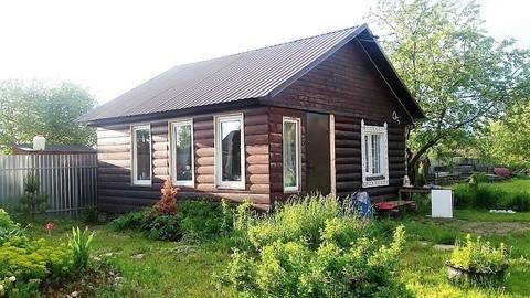 Продается дача из бревна в СНТ» Волжанка», в 400 метрах река Волга
