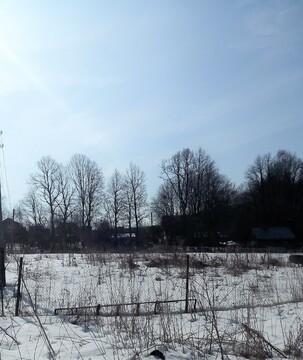 Участок 9 соток в д. Воробьи, свет, газ, водопровод