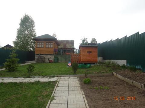 Продается часть дома и земельный участок в д. Никольское Пушкинский р
