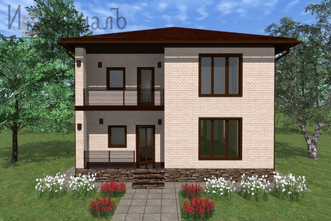 Дом на необыкновенно красивом участке близ Обнинска