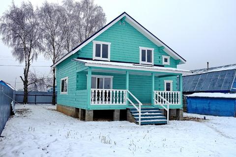 Продается новый дом 170 кв.м, в деревне, участок 18 соток.