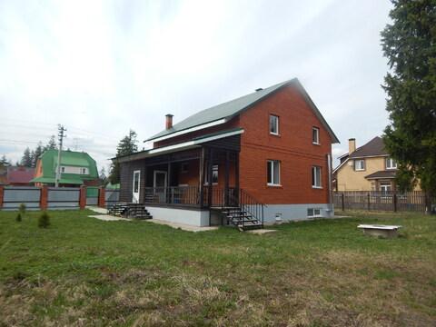 Новый кирпичный дом 240 кв.м. 12 сот. в 50 км от МКАД