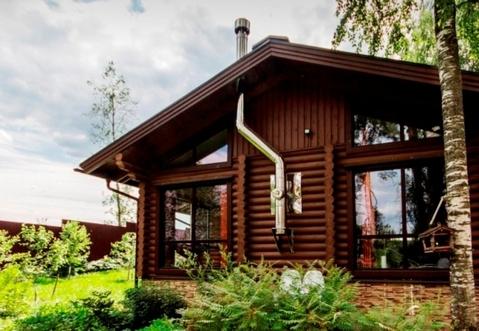 Коттедж в Ягодном 250 кв.м. в сосновом лесу (Приозерский район)