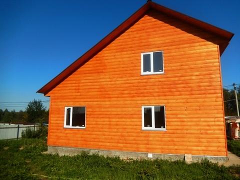 Продается новый 2-эт, брусовой дом 130 м2 на участке 7 сот.