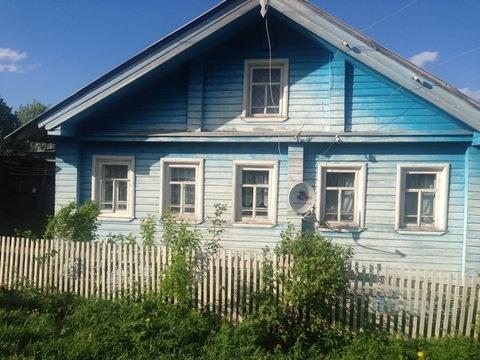 Сельский дом в Устьянском районе Архангельской области