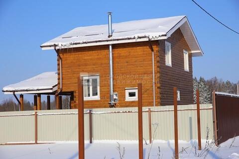 Предлагаем великолепный новый брусовый двухуровневый дом на берегу .