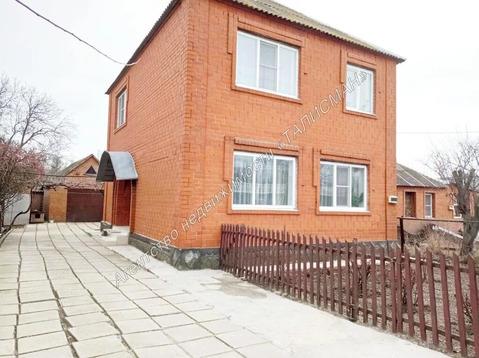 Продается 2-х этажный дом в пригороде Таганрога, х.Веселый