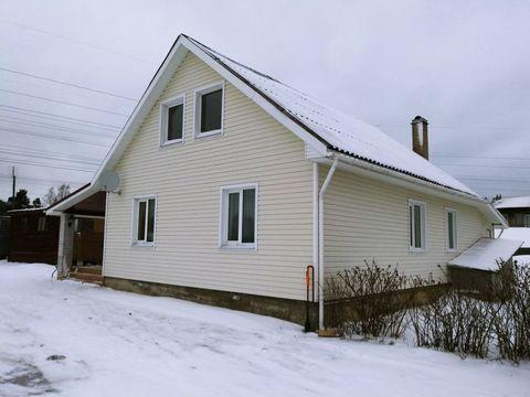 Дом 159 кв. м. пос. Сосново на участке 11,5 соток в 200 метрах от .