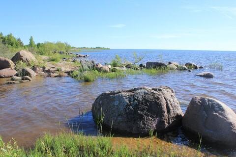 Участок на первой линии озера