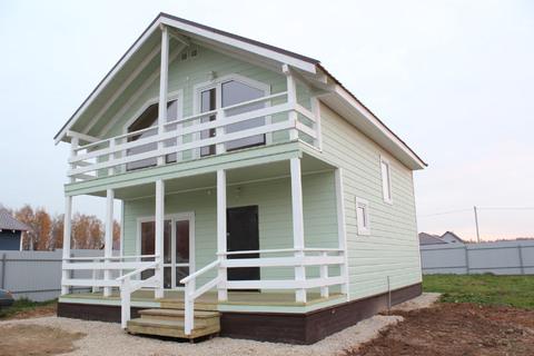Дом 130 кв м из бруса, круглогодичный в деревне Верховье Жуковское.