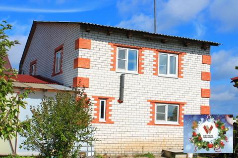 Жилой дом С газом + баня В Д.лисицино