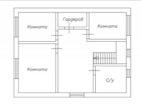 Дом 210 кв.м. на участке 4 сот.