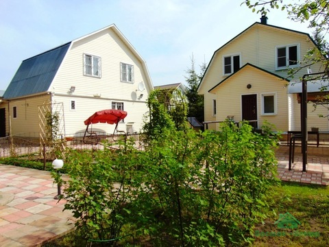 Мебелированная дача с гостевым домом и со всеми удобствами
