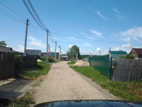 Чеховский район пос.Стремилово 20 соток свет газ ц.вода.