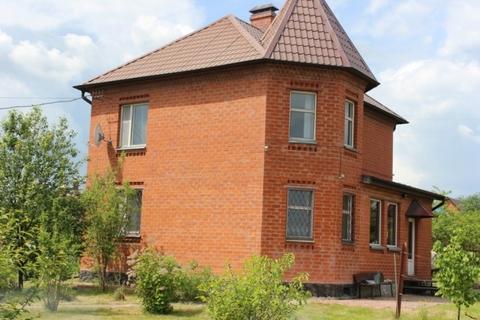 Кирпичный жилой дом в д. Ивановское Чеховский район