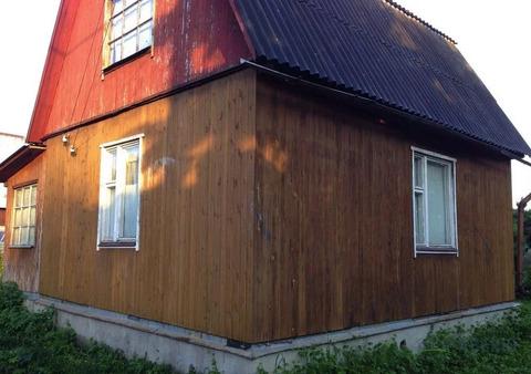 Крепкий дом из бруса 50 кв.м. на уч. 6 соток в обжитом СНТ.