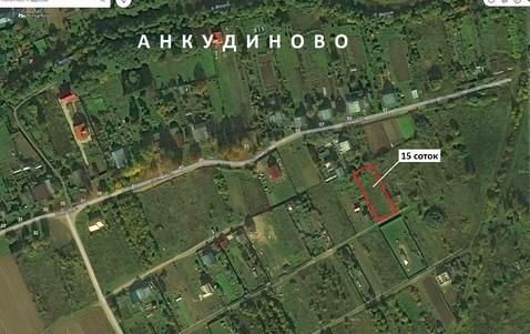 Участок 15 соток для ЛПХ в дер. Анкудиново в 5 км от Иваново