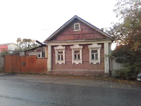 Бревенчатый дом по ул. Рабочая