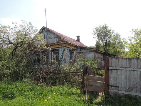 Продается бревенчатый дом в деревне Машково