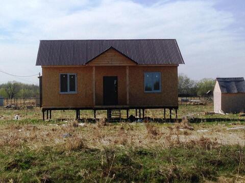 Дом 60м д Федуловская 16сот ИЖС газ свет вода асфальт новый дом