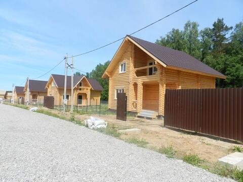 Оцилиндрованное бревно дом под ключ цена Киевское шоссе