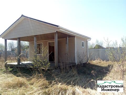 Гостевой домик 40кв.м. на участке 23 сот в д.Мерлеево Чеховский р-ЛПХ