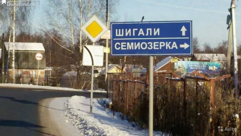 Продажа участка, Семиозерка, Новая ул