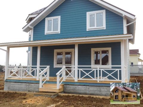 Продается дом в Калужской области со всеми коммуникациями, ИЖС.