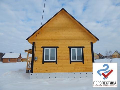 Лот 613. Одноэтажный дом из бруса, общей площадью 48 кв.м.