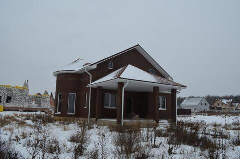Каменный дом в деревне Доброе возле Обнинска.