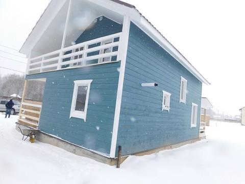 Дом в Боровском районе Калужской области новый дом в деревне Тишнево