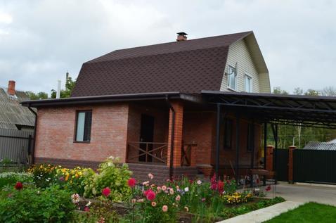 Кирпичный дом с баней возле леса!