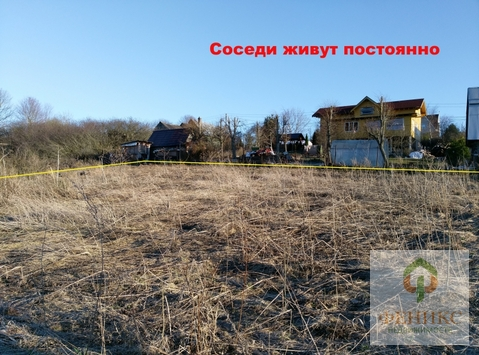 Участок ИЖС 20 соток д.Михайловская